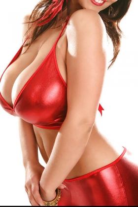 Sexy Sugar met haar grote borsten